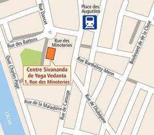 Carte Genève