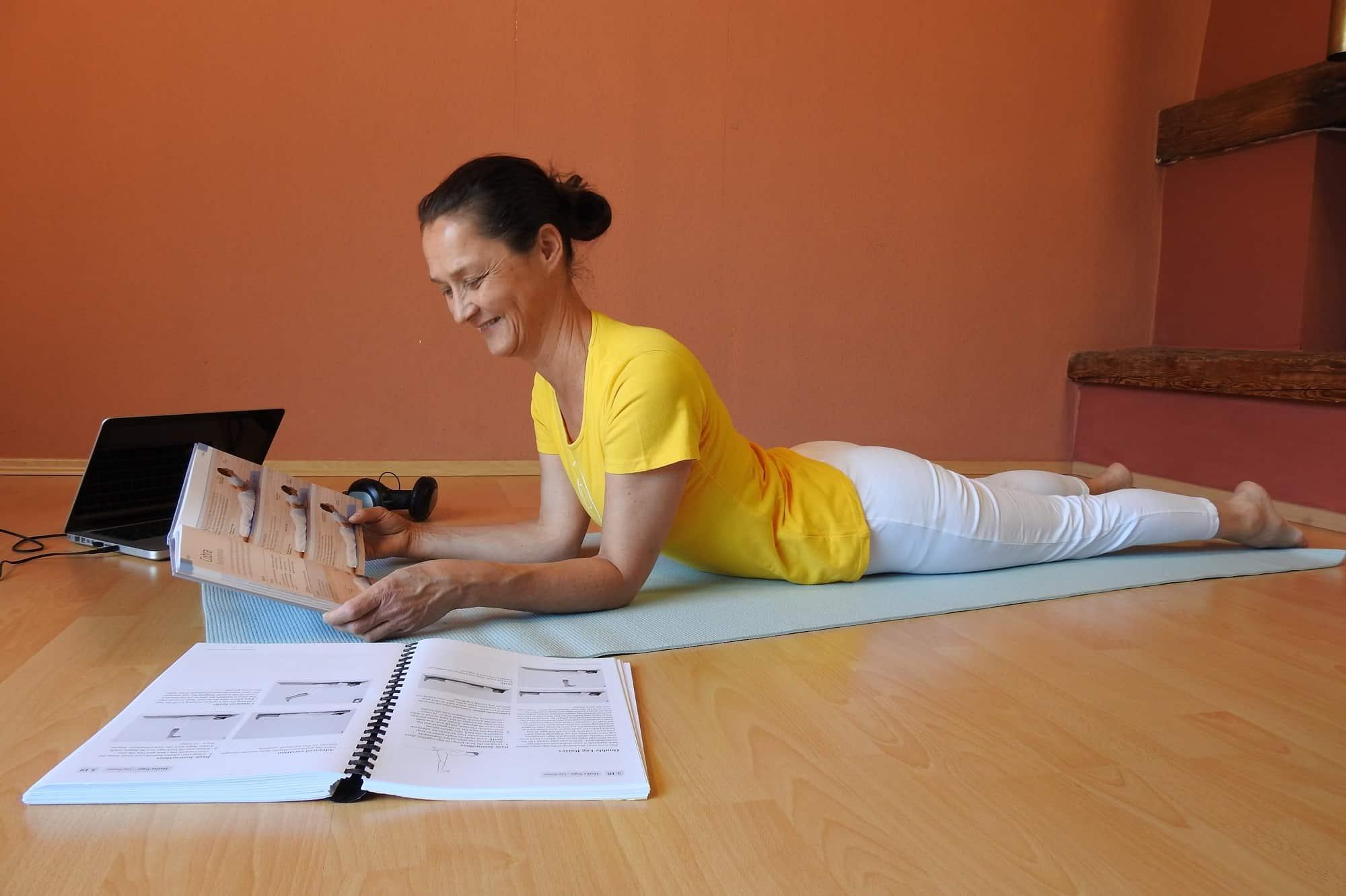Formation de professeurs de yoga en ligne